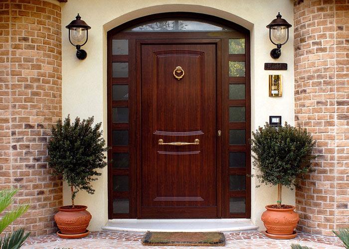 шикарные железные двери для входа